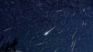 Lluvia de estrellas.